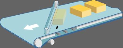 управлеемая лента разгрузки